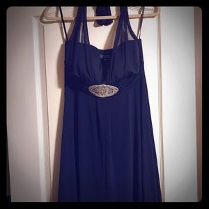 NWT Blue formal high/low Dress